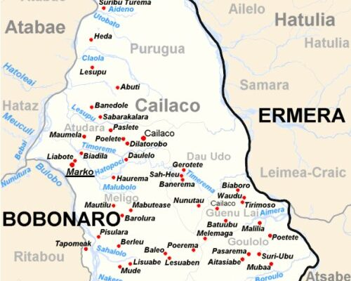 Cailaco Timor Leste (TL)