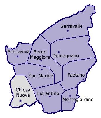 Poggio di Chiesanuova San Marino (SM)