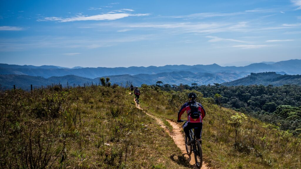 How to tackle a mountain bike trail