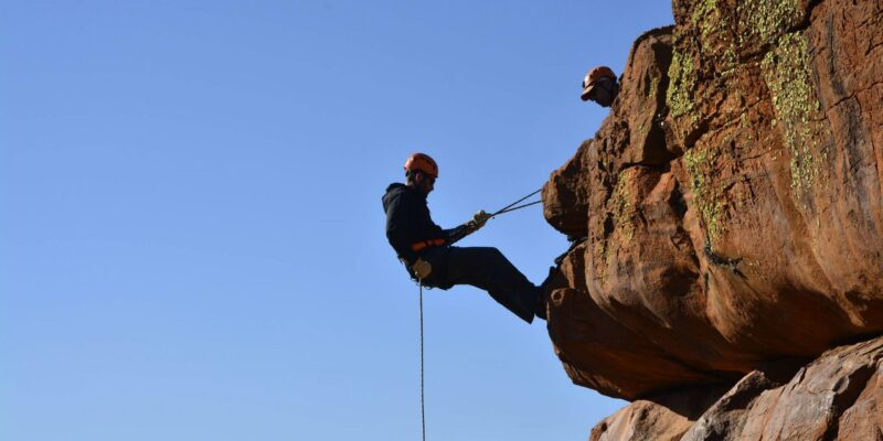trip to abseil|abseiling travel planner app