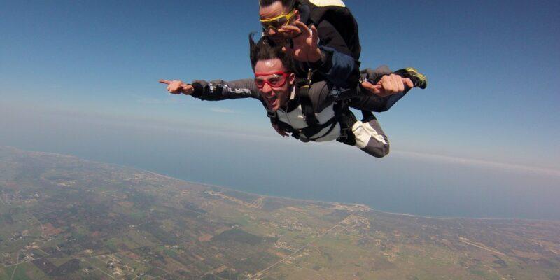 trip to skydive|skydiving travel planner app